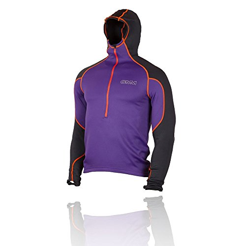 OMM Contour Hooded Top - SS17 Purple