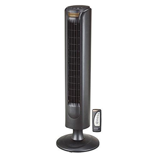 USB-Aufladung Kreativer Energiesparender leiser Turm-Fan / blattlose Fernbedienung / stehender Ventilator / Büro-Haushalts-lärmarmes Gebläse 29 * 83 Cm Kann gedreht werden