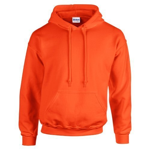 gildan-hooded-sweatshirt-heavy-blend-plain-hoodie-pullover-hoody-orange-l