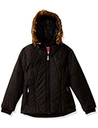 Qube By Fort Collins Girl's Quilted Regular fit Jacket