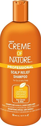 32 Oz Creme (Creme of Nature Professional Scalp Relief Shampoo, 32 oz by Creme of Nature)