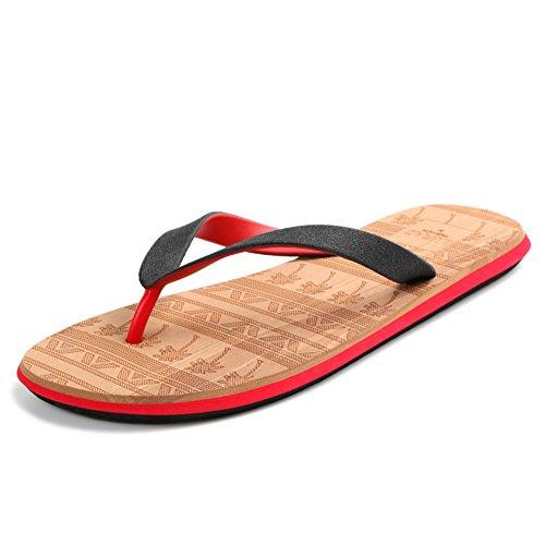 léger respirant homme tongs/Summer non-slip flat with sandals/chaussons de plage C