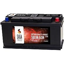 SIGA Blei Akku 12V 120Ah AGM GEL Batterie Solarbatterie Wohnmobil Mover Boot Versorgungsbatterie