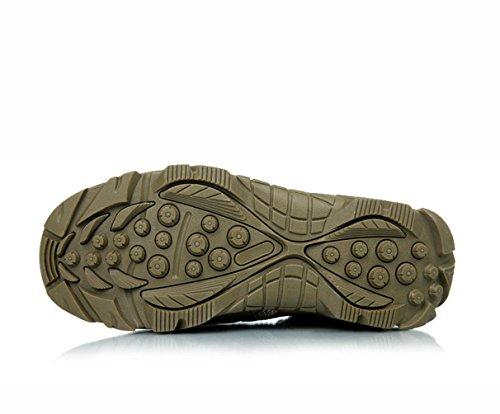 WZG camouflage tactique bottes de vol Dongkuan chaussures de randonnée en plein air bottes hommes des forces spéciales des bottes de combat desert boots Les bottes pour hommes Green