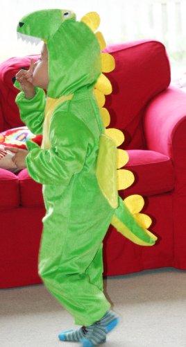 Imagen de fun play disfraz animal dinosaurio / dragón niño animal onesie dinosaurio / dragón para niños 3 5 años 110 cm talla m alternativa