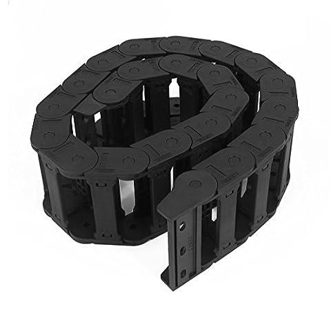 Machine Tool 25 x 77 mm Noir Chaîne porte-câbles de frein gigognes