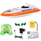 Toyshine 951B High-Speed Remote Control Boat Ship, Rechargeable, Assorted Color