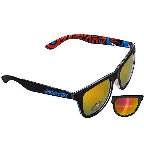 Santa Cruz Screaming Insider black/blue Sonnenbrille