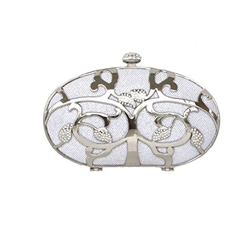 Dilize, Ladies Clutch Argento