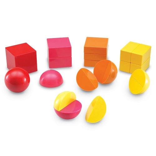 Learning Resources Magnetic Rainbow Fraction Shapes