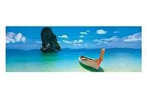 """Poster pour porte """"Thailand Destiny Boat"""" Grande affiche PAPIER - poster pour porte - mesure 158 x 53 cm environ"""