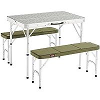 Coleman 205584 Mesa de Camping, Campingtisch Pack-Away(TM) Table for 4, Blanco