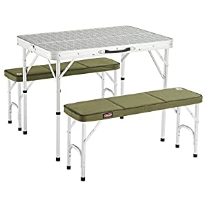 41wix7VBwFL. SS300  - Coleman Packaway Table, Silver