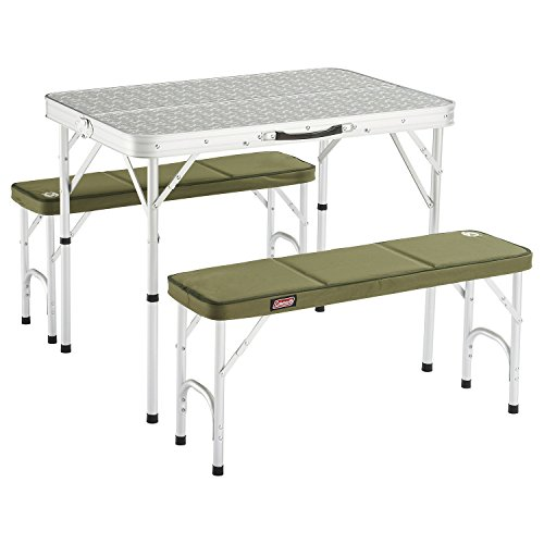 41wix7VBwFL. SS500  - Coleman Pack-away Table for 4 - Silver