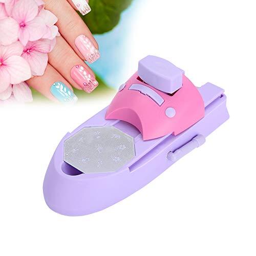 uñas Impresión Eléctrica Stamper Manicura Nail Art Impresora Máquina Herramienta Nail Art Nail...