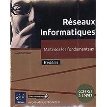 Réseaux Informatiques - Coffret de 2 livres - Maîtrisez les fondamentaux (6e édition)