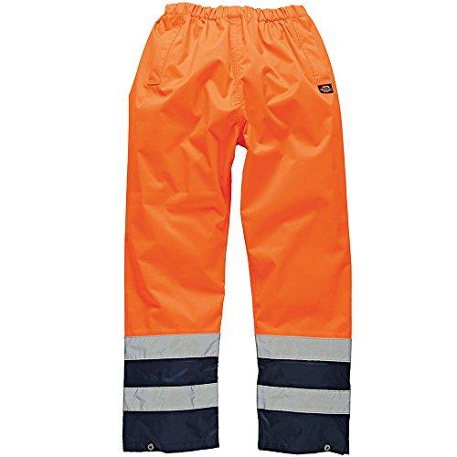 Dickies SA1003, Pantaloni da Lavoro Uomo, Arancione (Orange/Marine), XX-Large