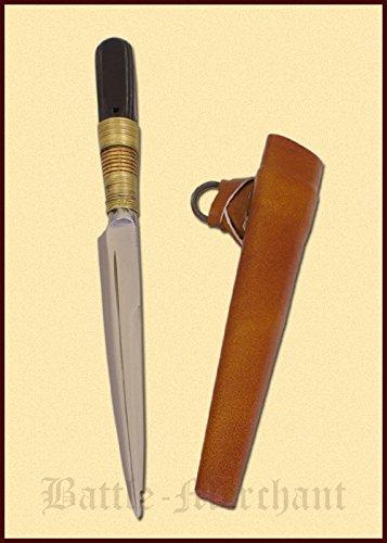 felmesser mit Scheide Messer LARP Ritter Samurai Mittelalter ()