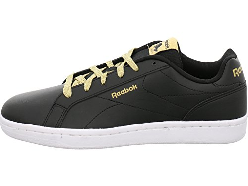 Reebok Royal Complete Cln, Chaussures de Fitness Femme, Noir Multicolore - noir/or (G / Black / Gold Met)