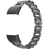 webla Word con correa de aleación de diamante Recambio del – Pulsera de metal con una