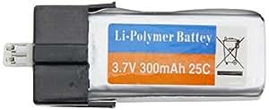 xciterc 56600002Accessoires: Energy XXL Lipo Batterie de 3,7V/300mAh pour RC hélicoptère Flybar Less 245, HiSKY FBL