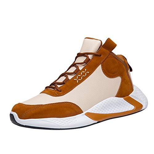 Sneakers Uomo Alte Sneakers Pelle Uomo Scarpe Ginnastica Uomo Alte Scarpe Fitness Uomo Scarpe Uomo Calde Scarpe Basket Ragazzo Scarpe Uomo Calde Stivali Moto Impermeabili Uomo