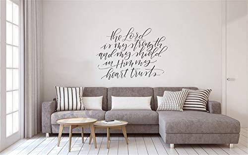 wandaufkleber 3d Wandaufkleber Schlafzimmer Kalligraphie Home Wohnzimmer Sofa Hintergrund Kunst Decals inspirierende Aufkleber Wohnzimmer Kinderzimmer Babyzimmer - Asche-wohnzimmer-sofa-tisch