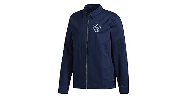 adidas ankny JKT – Veste, Homme, Bleu (MaruniBlanc): Amazon