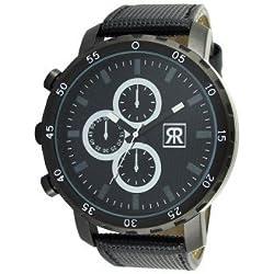 r-fight-homme-quartz-bracelet Other Materials syntétiques--Black