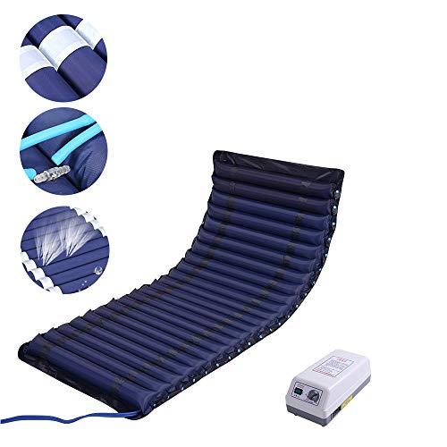 YXMxxm Wechseldruckmatratze mit Einstellbarer Pumpe - Anti-Dekubitus Matratze für Krankenhausbett Druck Wunde Erleichterung - Abwechselnd Druck-luft-matratze