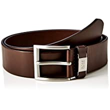 BOSS Men's Connio Belt, (Dark Brown 202), 38 (Size: 85)