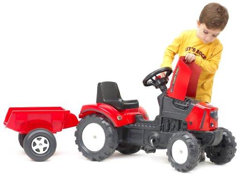 Falk 2030AC Falk Lander Z160X - Tractor con remolque, color rojo