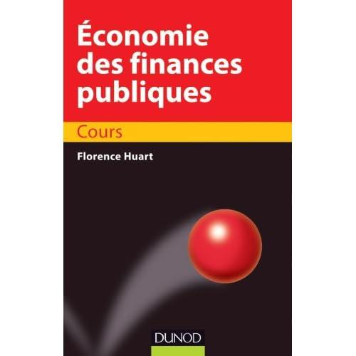 Économie des finances publiques - Cours