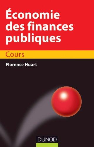 conomie des finances publiques - Cours