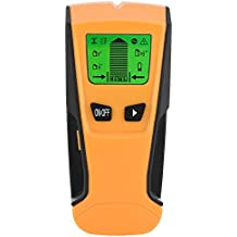 Zerone 3 en 1 Stud Center Finder, Detector de Alambre para escáner de Pared para