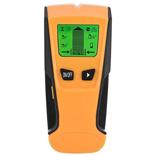 Zerone 3 en 1 Buscador de Centro de Pernos, escáner electrónico de Pared de Alambre...