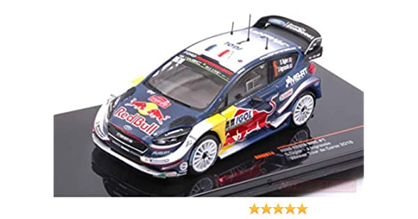 Ixo Model RAM674 Ford Fiesta WRC N.1 Tour DE Corse 2018 S.OGIER-J.INGRASSIA 1:43 Compatible avec