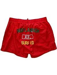 DSQUARED costume da bagno boxer corto da uomo D7B641610.400 rosso tg. 52 72cb15e2b260