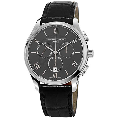 Frederique Constant Men's Classics 40mm Leather Band Quartz Watch FC-292MB5B6