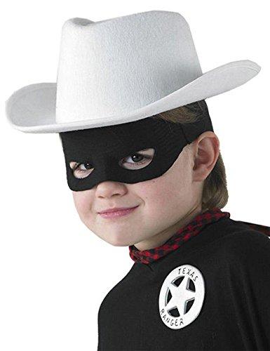 The Lone Ranger Kinder Kostüm Set Lizenzware weiss schwarz rot silber
