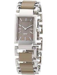 Esprit Damen-Armbanduhr pura Analog Edelstahl A.ES104252003