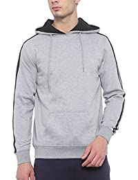 SayItLoud Printed Men Hooded Sweatshirt (Medium)