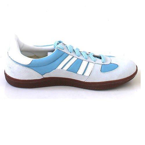 Germina Classics , Baskets pour femme Bleu Baby Blue/white Baby Blue/white