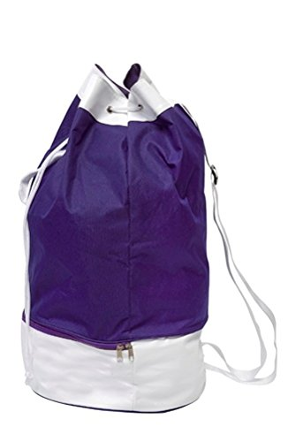 Step In Seesack in Kontrastfarben mit Schuhfach für Sport und Freizeit, 2036, violett -
