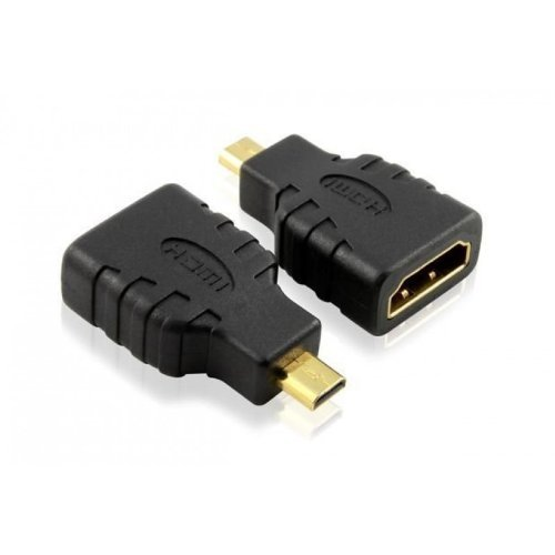 DragonTrading® High-Speed-Adapter Micro-HDMI-Stecker (Typ D) zu HDMI-Buchse (Typ A), Adapter zum Anschluss von Lenovo ThinkPad 10 Tablet an TV, HDTV, LCD, Plasma, Monitor mit HDMI-Anschluss, Premium-Qualität, Audio & Video, unterstützt 3D, 4K, 1440p, 1080p -