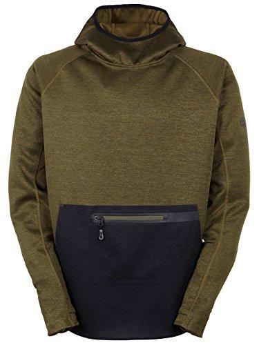 686 Giacche di pile Glcr Exploration Pullover Tech Fleece Olive Heather M