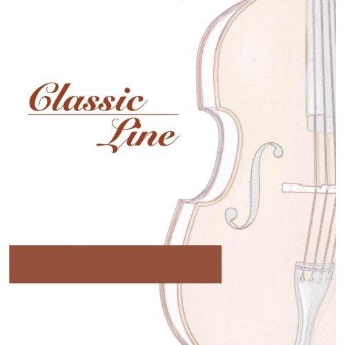 """GEWApure F641054 Cello Saiten Satz Classic Line 3/4"""" Mittlere Spannung Stahl"""
