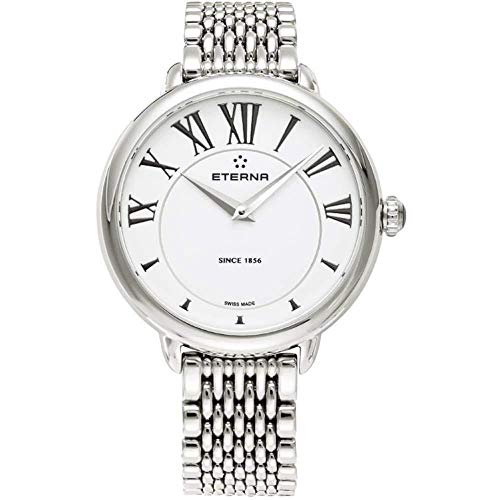 Eterna Lady Eterna Quartz Watch, ETA 956.412, 34mm, 5atm, White, 2800.41.62.1743
