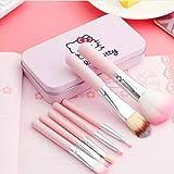 Spanking Mini 7 Piece Brush Set for Women (Pink)