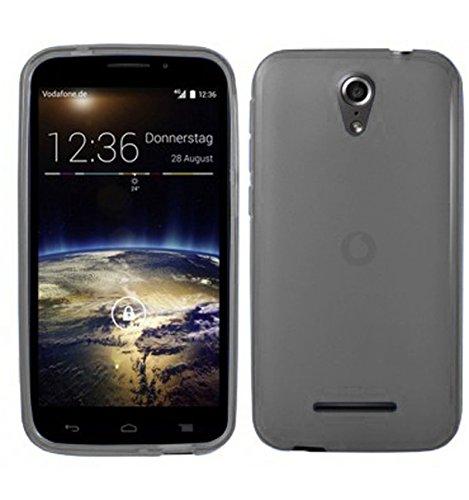 TBOC® Schwarz Gel TPU Hülle für Vodafone Smart 4 Power Ultradünn Flexibel Silikonhülle